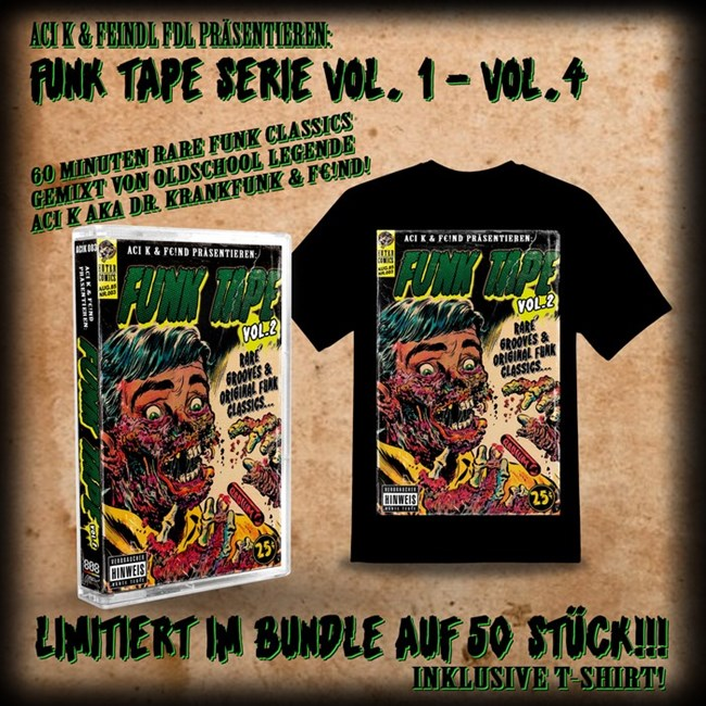 Bild von FUNK TAPE VOL.2 - BUNDLE